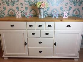 Solid pine sideboard / chest of drawers