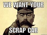 We buy all unwanted scrap cars and commercial vehicles