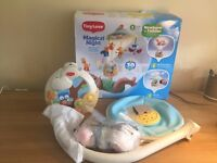Baby mobile /music box/lamp ( 3 in 1) in excellent condition for only £25 , RRP( £54)