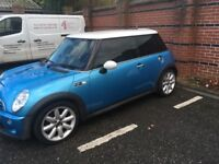 Mini Cooper s, Low mileage, Leather Seats, 03 plate, Air con, Climate control