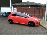 64 reg Corsa Limited Edition in blood red, fsh low miles - looks drives superb