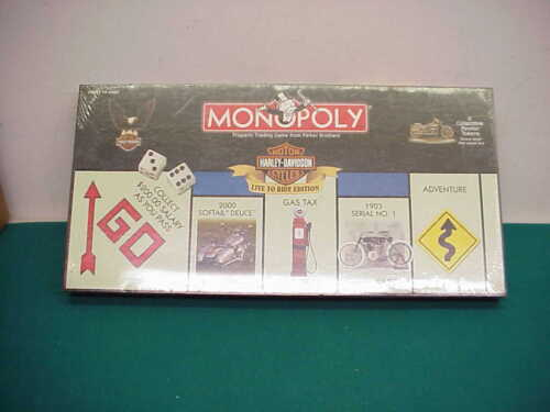 Monopoly Harley Davidson Live to ride Version 6 pewter pieces