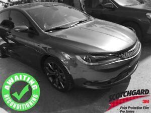 2015 Chrysler 200 S AWD V6| Sun| Nav| Heat Seat/Wheel| Rem Start