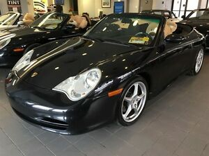 2004 Porsche Carrera Manual, Navigation, Leather, Convertible