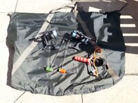 For Sale One Man Bivvy & Fishing Equipment