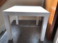 Ikea side table (white)
