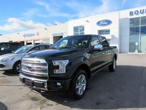 2016 Ford F-150 PLATINUM 4X4 TWIN PANEL MO