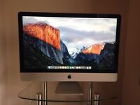 Late 2012 Slim 27 Apple iMac i7 3.4ghz 16GB RAM 1TB Hard Drive 1GB 675MX GPU