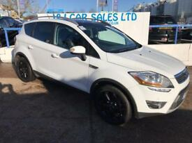 FORD KUGA 2.0 TITANIUM X TDCI 5d 163 BHP A GREAT EXAMPLE INS (white) 2012
