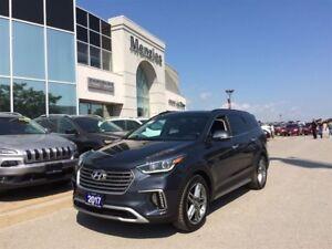 2017 Hyundai Santa Fe XL Limited AWD, Bluetooth, Navi, Clean CAR