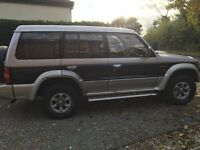 Mitsubishi pajero exceed 2.8 auto