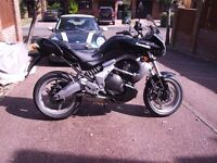 Kawasaki Versys 650 2007 in good condition with 12071 miles on the clock ,Mot runs out In Feb