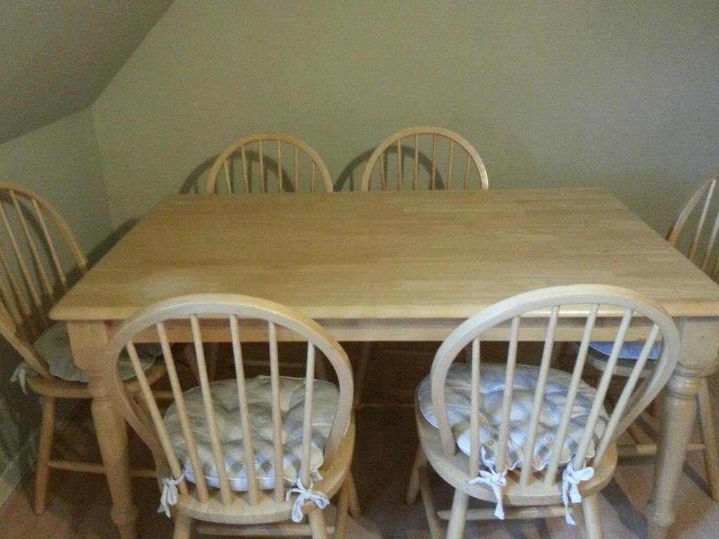 farmhouse dining table in the shore edinburgh gumtree