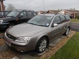 Ford Mondeo Ghia X Estate Auto 2003