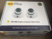 HD1080 indoor camera twin pack