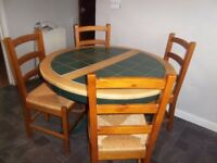 dining table extendable with 6 chairs