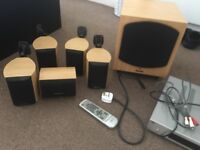 wharfdale surround system