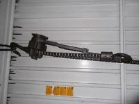 Yale chain pull lift in good condition 3/4 ton