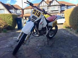Honda CRM 250 1993 (reg 1997) OCT MOT dirt off road motorcross supermoto road legal pit trail bike