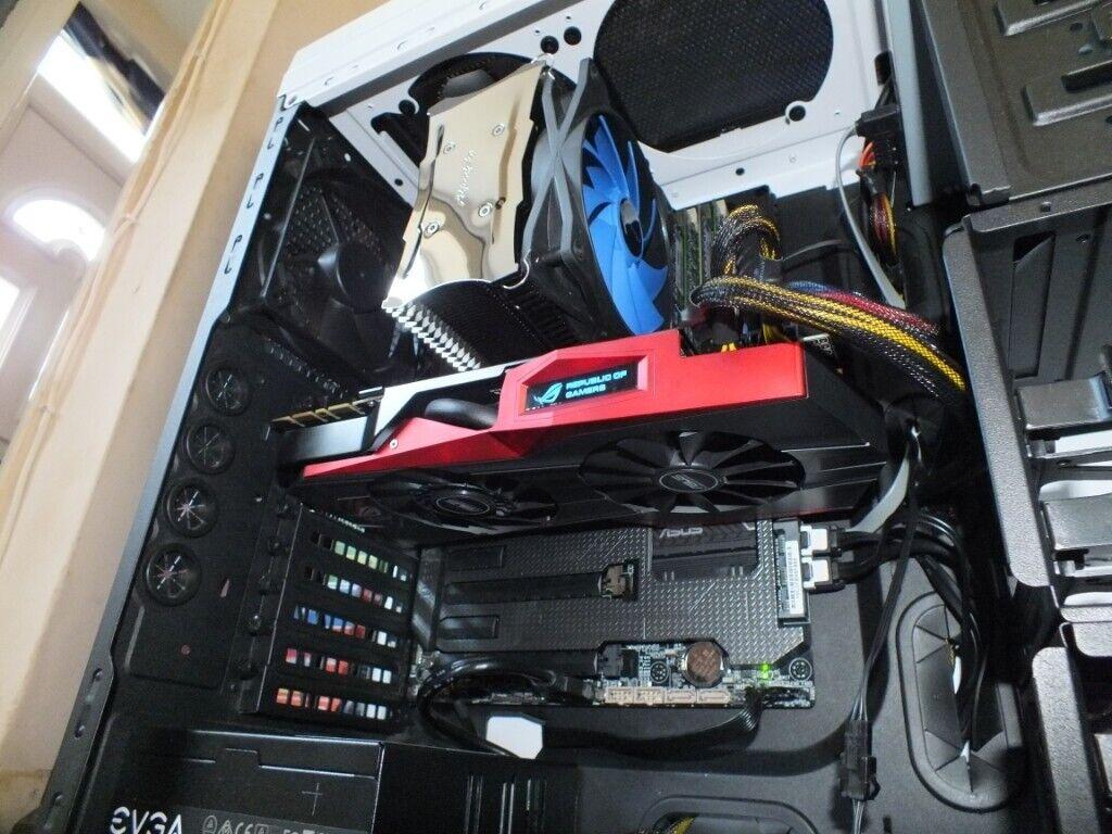 Custom PC, i7 4790K, ASUS R O G