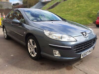 PEUGEOT 407 2.0 SE HDI 4d 135 BHP SERVICE RECORD, Climate Control VERY LOW MILEAGE, BLUETOOTH