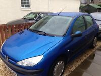 Peugeot 206 4 Door Hatch