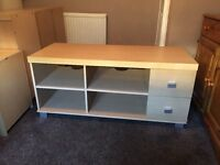 Tv unit and side unit (can deliver)