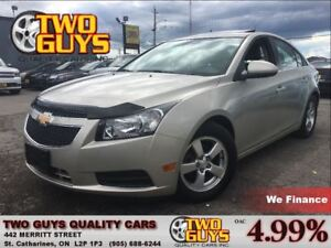 2014 Chevrolet Cruze 2LT LEATHER MOON ROOF BACK UP CAMERA