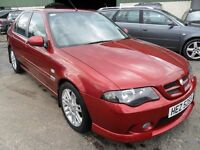 mg zs 1.8 petrol met red only 60000 miles full years mot 2006