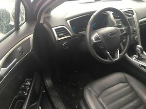 2014 Ford Fusion SE *LEATHER-HEATED SEATS* Kitchener / Waterloo Kitchener Area image 9