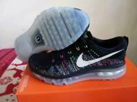 Genuine Nike flyknit max womans shoes