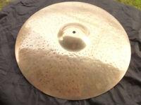 """ZILDJIAN 'K' 20"""" ride cymbal, BARGAIN £120"""
