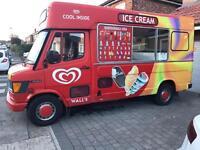 Ice Cream Van whippy ice cream NOW SOLD