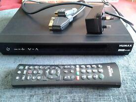 Humax HDR 1800T Freeview +HD Recorder with over 50 channels