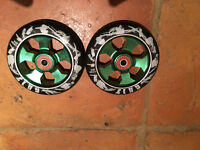 Alloy Scooters Wheels Green