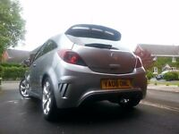 2008 Vauxhall Corsa VXR - 1.6 Litre Turbo - Lightning Silver - 34000 Miles !!