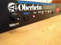 Oberheim Matrix 1000 Analog Synthesizer / Analogue Synth / Synthesiser / Module / Rackmount