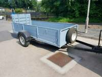 Trailer 10x 4 suspension braked