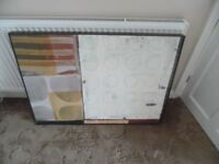 """Large 39"""" by 28"""" by 2"""" Wooden Frame Wall Art Picture (2)"""