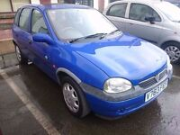 1999 VAUXHALL CORSA 1.2...5 DOOR...QUICK SALE..