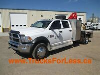 2013 Dodge RAM 5500 SLT 4X4, PICKER, SERVICE DECK!!!