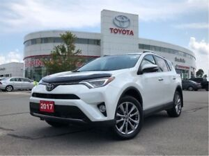 2017 Toyota RAV4 Limited AWD - No Accidents / Off-Lease / TCUV