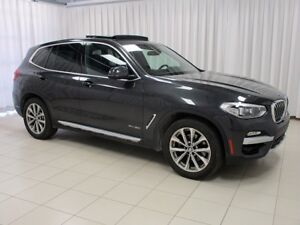 2018 BMW X3 30i x-DRIVE. w/ NAV, BACK-UP CAM, BLIND-SPOT & PAN