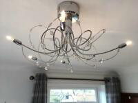 Modern LED light fitting (Sold)