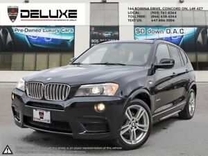 2014 BMW X3 xDrive35i M SPORT NAVIGATION RED INTERIOR $113.27...