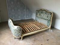 French King Louis XV style Corbele Double Bed