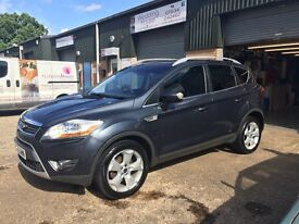 Ford Kuga titanium tdci with x-pack, panoramic roof and full leather interior.