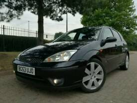 2003/03 FORD FOCUS 1.8 TDCI SPORT *3 OWNERS MOT 10 STAMPS IMMACULATE* astra mondeo vauxhall