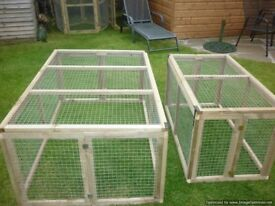 rabbit/guinea pig hutches