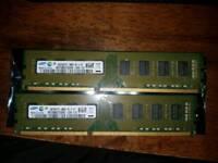 8GB (2×4GB) RAM 10600u DDR3